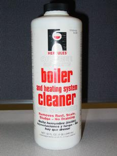 Hercules Boiler Cleaner liquid concentrate